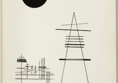 Point et ligne sur plan - Vassily Kandinsky 1926 (170)