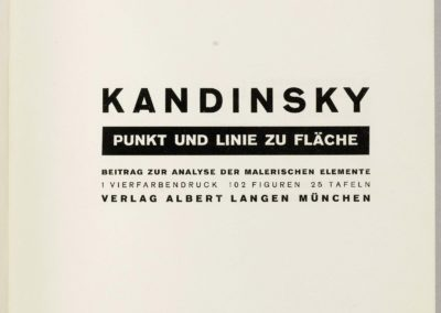 Point et ligne sur plan - Vassily Kandinsky 1926 (5)