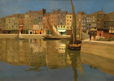 Port de Honfleur - Felix Vallotton (1901)