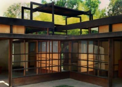 Schindler house - Rudolf Schindler 1921 (5)
