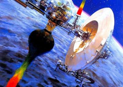 Science-fiction - John Berkey 1960 (12)