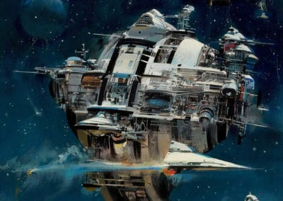 Science-fiction - John Berkey 1960 (20)