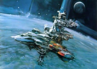 Science-fiction - John Berkey 1960 (24)