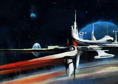Science-fiction - John Berkey 1960 (26)