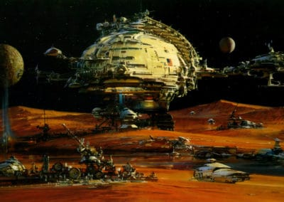 Science-fiction - John Berkey 1960 (31)