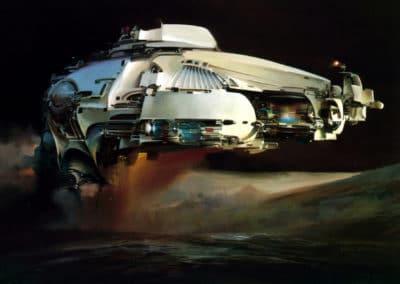Science-fiction - John Berkey 1960 (35)