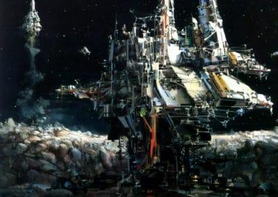 Science-fiction - John Berkey 1960 (4)