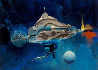 Science-fiction - John Berkey 1960 (42)