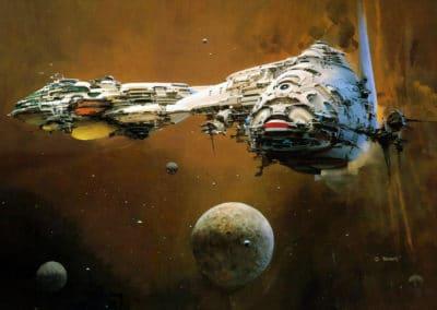 Science-fiction - John Berkey 1960 (43)