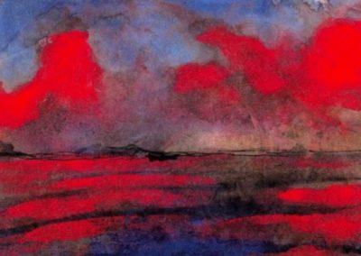 Sea - Emil Nolde (1901)