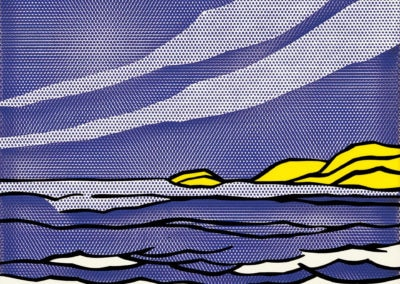 Sea shore - Roy Lichtenstein (1964)