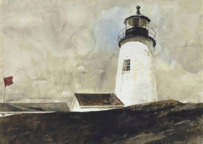 Storm signal - Andrew Wyeth (1972)