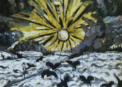 Sunrise - Otto Dix (1913)