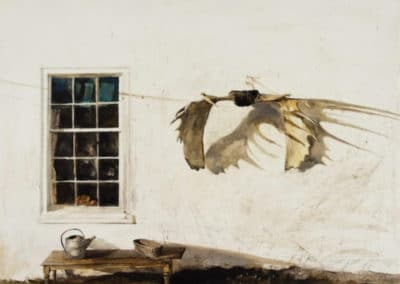 The trophy - Andrew Wyeth (1963)
