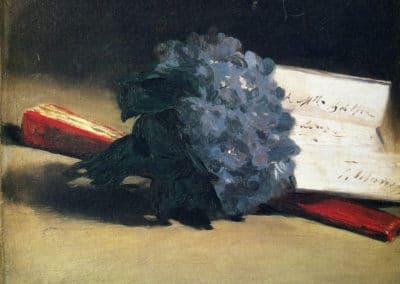 Bouquet de violette - Edouard Manet (1872)