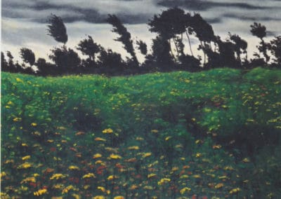 Champs en fleurs - Felix Vallotton (1902)