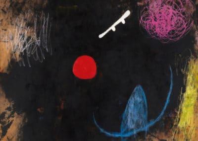 Danseur face au soleil - Joan Miro (1973)