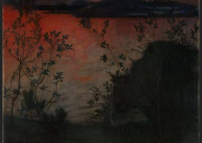 Evening Glow - Harald Sohlberg (1893)