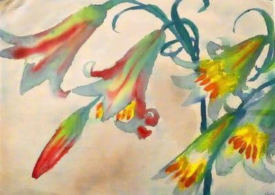 Fleurs de vendredi - Emil Nolde (1913)