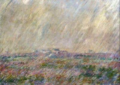 La pluie - Claude Monet (1886)