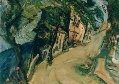 La route de la colline, Vence - Chaïm Soutine (1924)