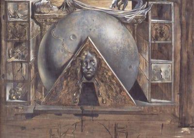 La tombe de Juliette - Salvador Dali (1942)