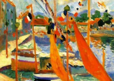 Le 14 juillet à St Tropez - Henri Manguin (1905)
