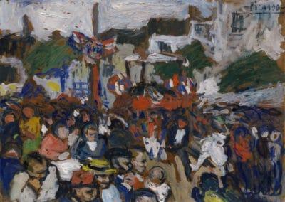 Le 14 juillet - Pablo Picasso (1908)