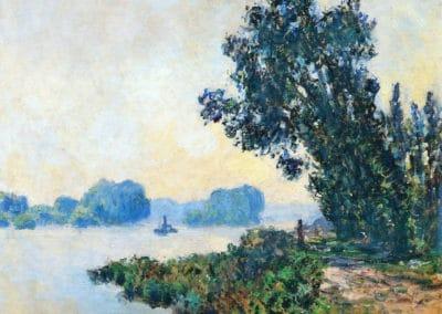 Le chemin de hallage à Granval - Claude Monet (1883)