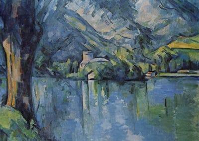 Le lac d'Annecy - Paul Cezanne (1876)