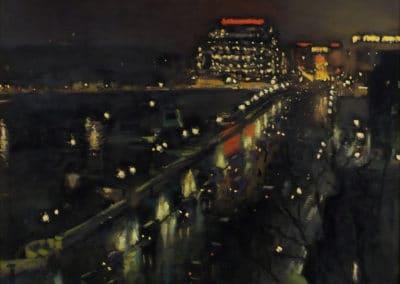 Le pont Neuf la nuit - Albert Marquet (1935)