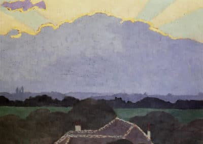 Nuages à Romanel - Felix Vallotton (1901)