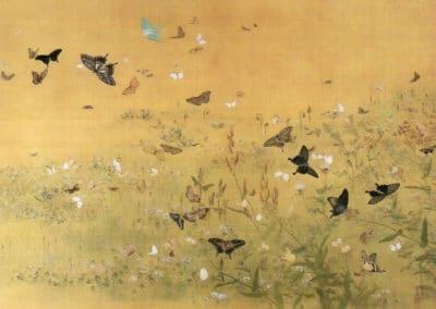 Papillons - Maruyama Ōkyo (1788)