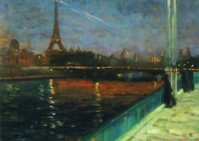 Paris la nuit - Alfred Henry Maurer (1899)