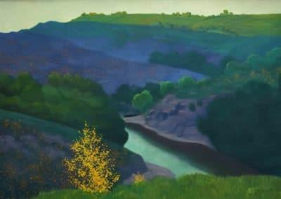Paysage de la Creuse - Felix Vallotton (1925)