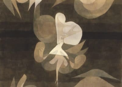 Plante mourante - Paul Klee (1922)