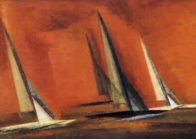 Schären-kreuzer - Lyonel Feininger (1930)