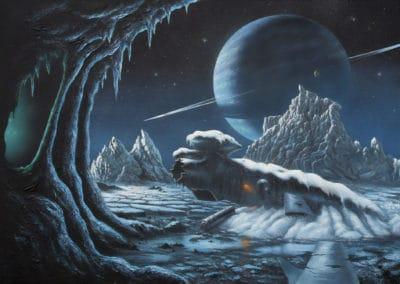 Science-fiction - David A. Hardy 1970 (3)