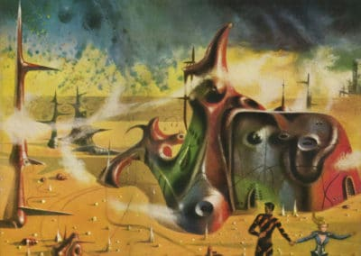 Science-fiction - Richard Powers 1960 (17)