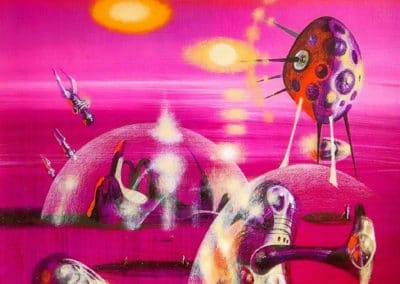 Science-fiction - Richard Powers 1960 (41)
