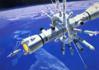 Science-fiction - Robert McCall 1970 (1)