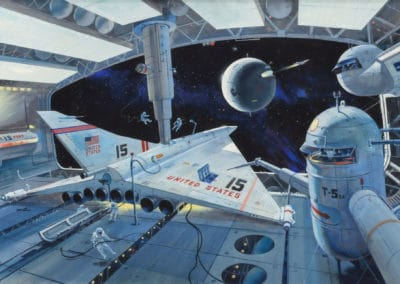 Science-fiction - Robert McCall 1970 (7)
