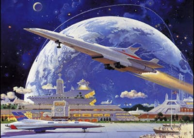 Science-fiction - Robert McCall 1970 (8)