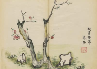 Shi zhu zhai zhai shu hua hua pu – Hu Zhengyan 1633 (22)