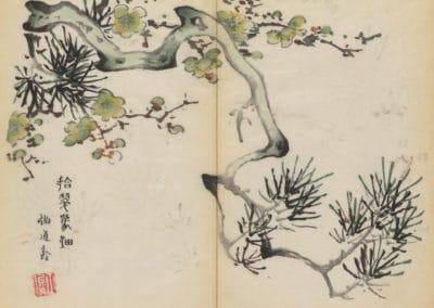 Shi zhu zhai zhai shu hua hua pu – Hu Zhengyan 1633 (31)