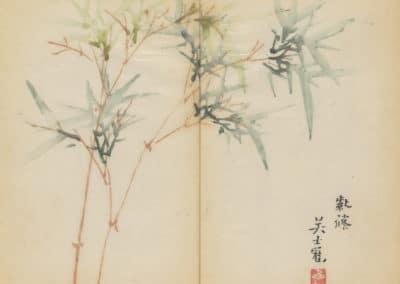 Shi zhu zhai zhai shu hua hua pu – Hu Zhengyan 1633 (49)