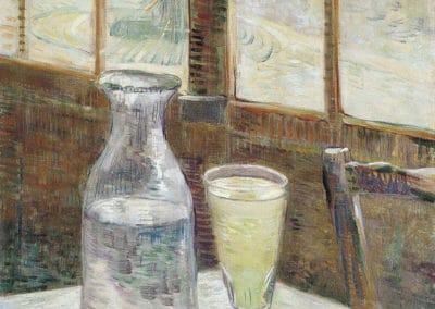 Table de café avec de l'absinthe - Vincent van Gogh (1894)
