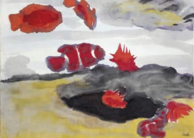 Coral fish and sea anemones - Emil Nolde (1936)
