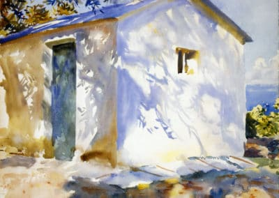 Corfu lights and shadows - John Singer Sargent (1890)