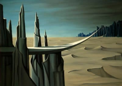 Danger, construction ahead - Kay Sage (1940)